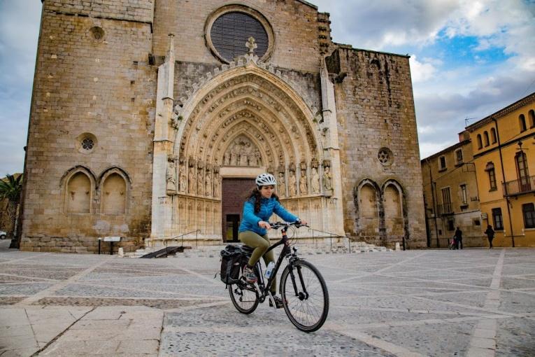 Elcykel och vandring i Spanien