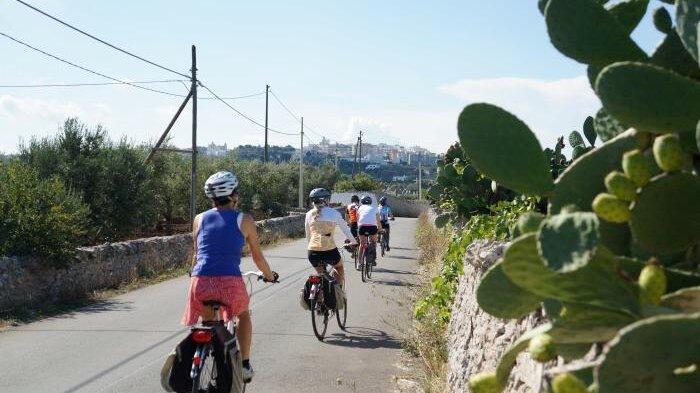 Gastronomisk cykelresa på egen hand