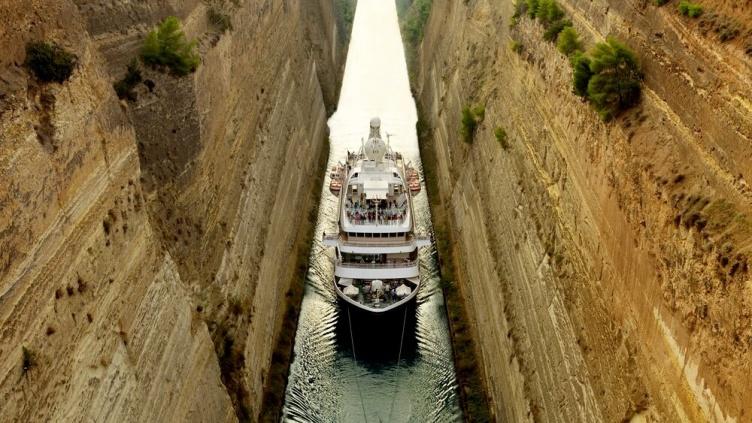 Kryssning Malta-Aten Korintkanalen