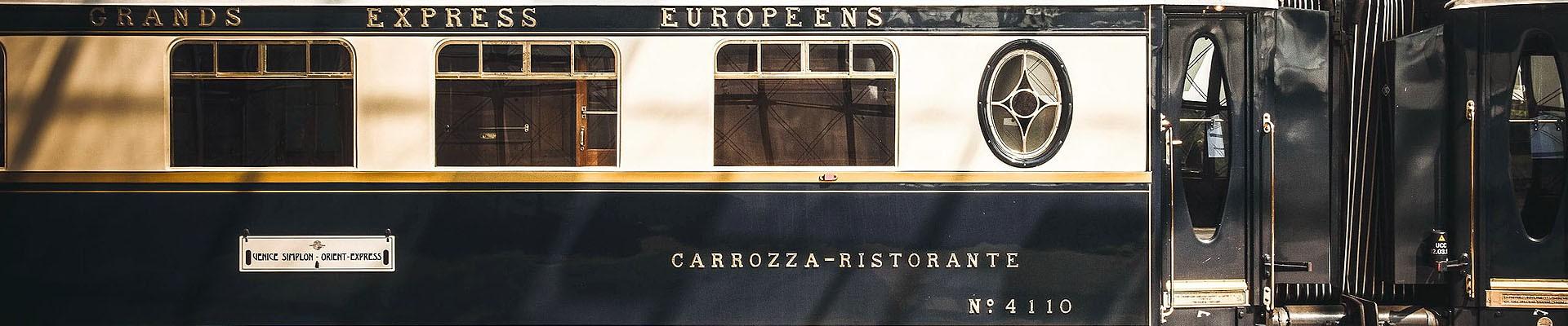 Det legandariska tåget Orient-Expressen
